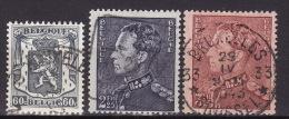 BELGIUM 1941. Mi 566/68, USED - Belgique