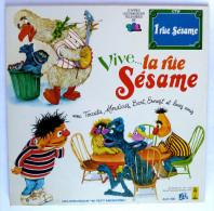 Disque Vinyle 33T 25 Cm 1 Rue Sesame - VIVE LA RUE SESAME ADES ALB 390 1978 - Disques & CD