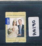 Australia 2014  Prince George 1val P/s F/used  AA180 - Usati