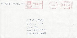 """Namibia 2008 Windhoek Meter Franking Pitney Bowes-GB """"A900"""" NP15003 Polytechnic Cover - Namibië (1990- ...)"""