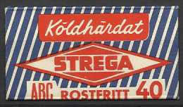 "Sweden, ""Strega"", Rostfritt,  '60s. - Razor Blades"
