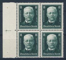 Deutsches Reich Michel No. 403  ** postfrisch Viererblock