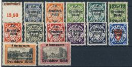 Deutsches Reich Michel No. 716 - 729  ** postfrisch