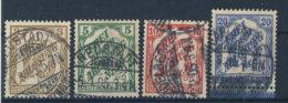 Deutsches Reich Dienst Michel No. 10 - 13  gestempelt used