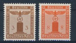 Lot Deutsches Reich Dienst Michel No. 156 y , 160 y ** postfrisch