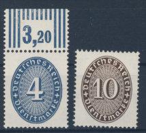 Deutsches Reich Dienst Michel No. 130 - 131  ** postfrisch / No. 130 gepr�ft BPP Schlegel