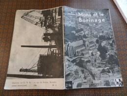 Mons Et Le Borinage  Edition De L'I. N. R. Bruxelles Série Française 1936 N° 1 - Dépliants Touristiques