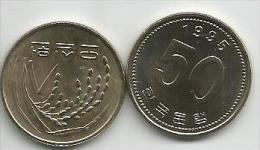 South Korea 50 Won 1995. UNC - Korea, South