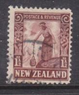 New Zealand 1936, 1 1/2d Red-brown,perf 14 X 13.5  Used - Gebruikt