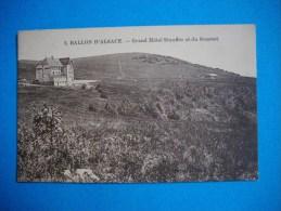 Cpsm    BALLON D´ALSACE  -  88  -  Grand Hôtel Stauffer Et Du Sommet  -  Vosges - France