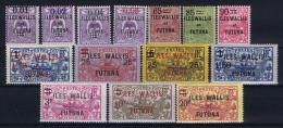 Wallis Et Futuna Yv Nr 26 - 39   MH/* Avec  Charnière - Neufs