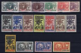 Haut Senegal-Niger Yv 1 -17 MH/* Avec  Charnière  1906 - Nuovi