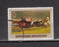 RWANDA ° YT N° 338 - 1970-79: Used