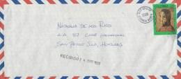 Colombia 1993 Bogota Kidnapped Gloria Lara Cover To Honduras - Colombia