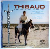 RARE Disque Vinyle 33T 25 Cm THIBAUD DES CROISADES (1) A Laurence - ORTF ADES ALB 325 1970 - Disques & CD