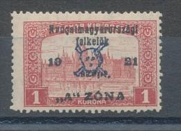 1921. West-Hungary (II.) - Occupation :) - Hongrie