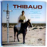 RARE Disque Vinyle 33T 25 Cm THIBAUD DES CROISADES (2) A Laurence - ORTF ADES ALB 325 1970 + PLANCHE A COLOR & DECOUPER - Disques & CD