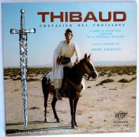 RARE Disque Vinyle 33T 25 Cm THIBAUD DES CROISADES (3) A Laurence - ORTF ADES ALB 325 1970 AVEC PLANCHE COLOR & DECOUPER - Disques & CD