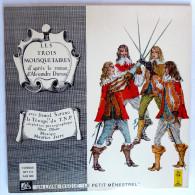 RARE Disque Vinyle 33T 25 Cm LES TROIS MOUSQUETAIRES Maurice Jarre - ADES ALB 303 1976 - Disques & CD