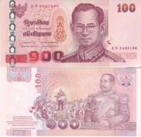 THAILAND  New 100 Baht    New Signature   New Reverse    UNC - Thailand