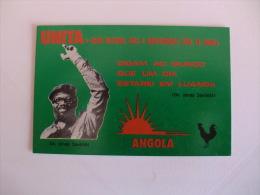 Politic Politique  Politico Unita Jonas Savimbi Angola Pocket Calendar 1985 - Klein Formaat: 1981-90