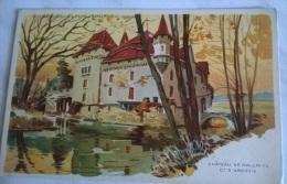 CHATEAU DE HALLWYL CT. D´ARGOVIE EDITE PAR CHOCOLATS PETER & KOHLER VEVEY SUISSE - Castelli