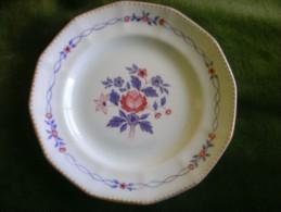 "Vintage Adams Calyx Ware Cascade Dessert Plate 8"" - Adams & Cooper"