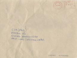 "Zambia 2008 Lusaka Pitney Bowes-GB ""6300"" PB 292 Meter Franking Cover - Zambia (1965-...)"