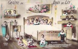 FANTAISIE ( Bébés Enfants ) Graine De Bois De Lit - Jolie CPA Colorisée - - Bébés