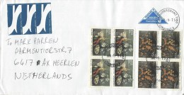 South Africa 2005 Bloubergrant Paintings Still-life Lobster Flowers Upgraded Domestic Postal Stationary Cover - Zuid-Afrika (1961-...)