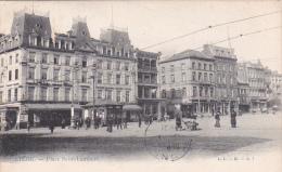 Belgium 1905 Used Postcard Liege Place Saint Lambert - Postcards