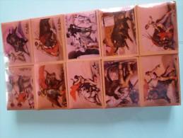 LOT DE 10 PETITES BOITES D ALLUMETTES  THEME CORRIDA SOUS EMBALLAGE D ORIGINE - Matchboxes