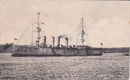Australia Shipping HMAS Powerful In Sydney Harbour - Postcards