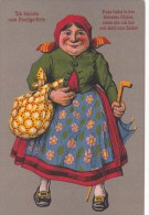 Ethnic Lady - Postcards