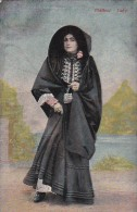 Ethnic Maltese Lady In Color - Postcards
