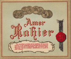 AMER  RAHIER  -  GERIMONT / HERSTAL -  Etiquette Litho - Autres Collections