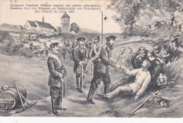 Germany Artist 1866 Battlefield - Postcards