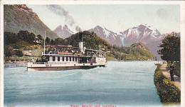 Shipping  Eigrer, Monch Und Jungfrau - Postcards