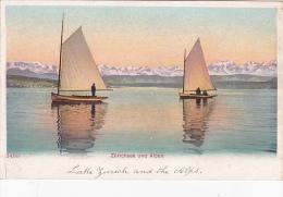 Shipping  Zurichsee Und Alpen - Postcards
