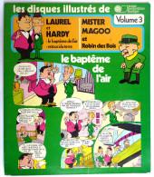 RARE Disque Vinyle 33T 25 Cm LAUREL ET HARDY MISTER MAGOO Vol 3 - JPM 6002 1974 - Disques & CD