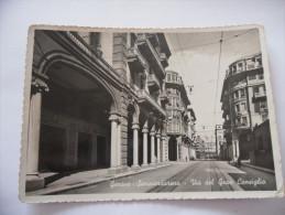 CARTOLINA GENOVA SAMPIERDARENA VIA DEL GRAN CONSIGLIO - Genova