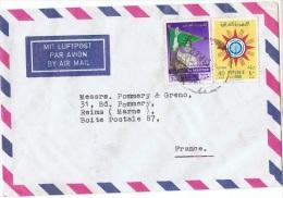 L-I/J 12 - IRAQ N° 282-313 Sur Lettre Par Avion Pour La France - Iraq
