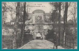 CPA Lille Porte De La Citadelle Voy SEM 1913 TBE Militaire BP - Lille