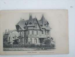 BEUZEVAL HOULGATE  Villa Frenda , Rare , Precurseur - Houlgate
