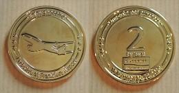 AVIATION - Jeton Touristique De L´aéroport De Francfort : Duty Free 2 Points - 31/12/2012 - Tourist