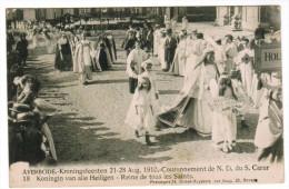 Averbode, Kroningsfeesten 21-28 Aug 1910, Koningin Van Alle Heiligen (pk21655) - Scherpenheuvel-Zichem