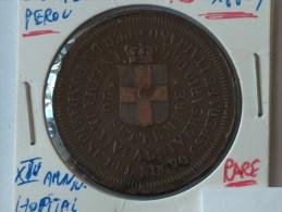 MEDAILLE  PER LA FONDAZIONE DEL NUEVO OSPEDALE ITALIANO IN LINA IL XIV ANNIVERSARIO DEL 20 SETTEMBRE - Jetons & Médailles