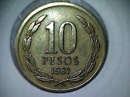 Chile 10 Pesos 1982 - Chile