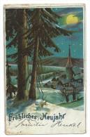 CPA Précurseur - FRÖHLICHES NEUJAHR, (BONNE ANNEE ) - Circulé 1903 - Nouvel An