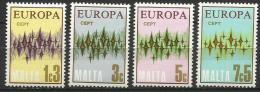 Malta 1972, Europa (**), Serie Completa - Europa-CEPT